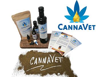Visan: CannaVet CBD Pflegemittel