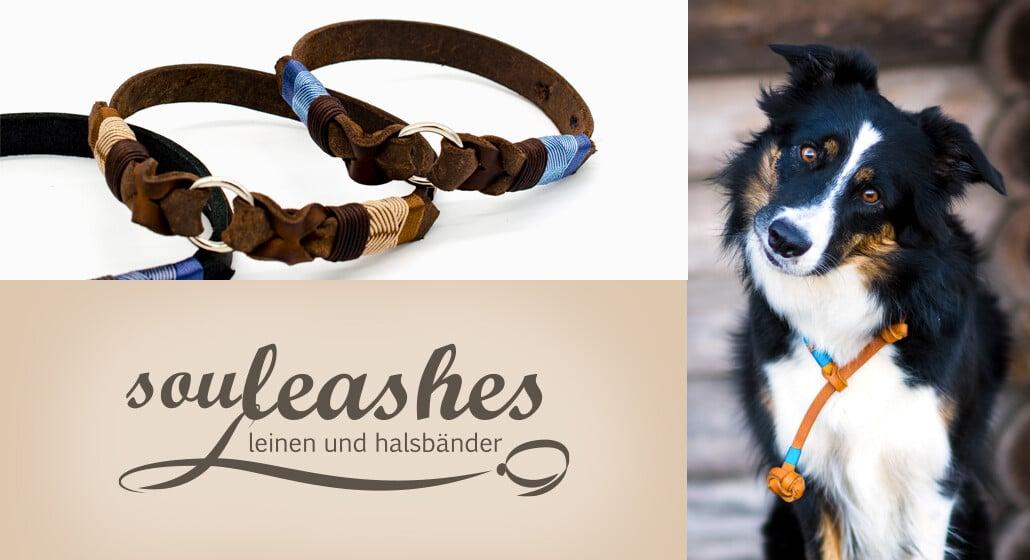 "<span class=""rabattheader"">15 %</span> Rabatt bei Souleashes – Leinen & Halsbänder"