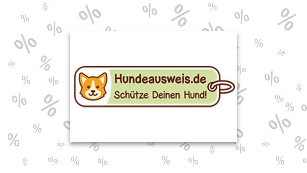 """<span class=""""rabattheader"""">15 %</span> Rabatt bei Hundeausweis.de"""