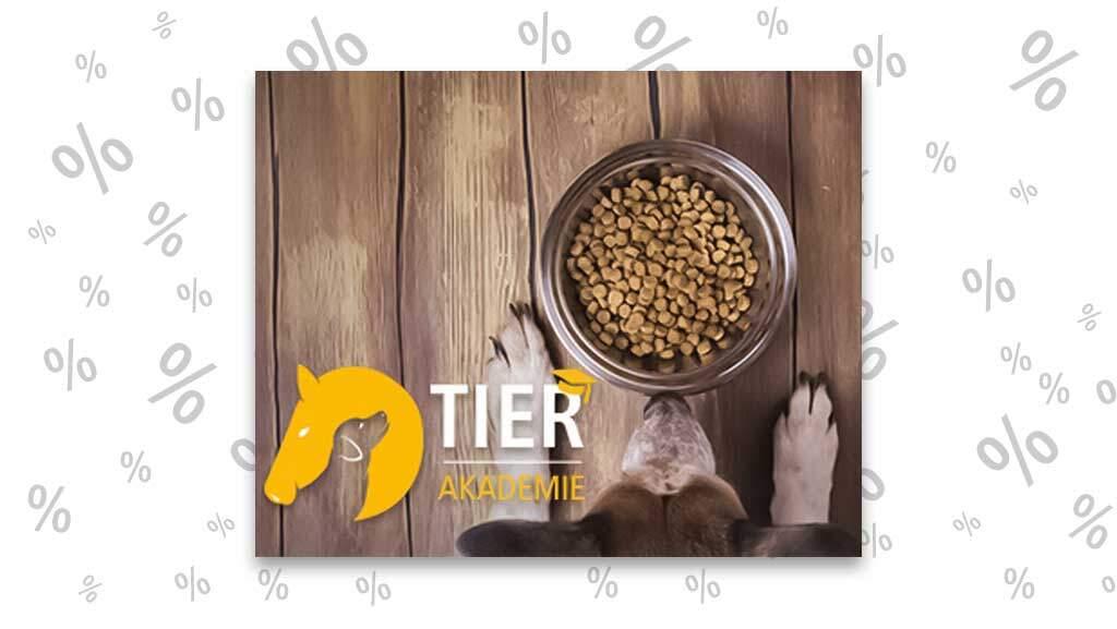 """<span class=""""rabattheader"""">Gratis!</span> Online-Kurs: Hundeernährung – Gewusst wie!"""