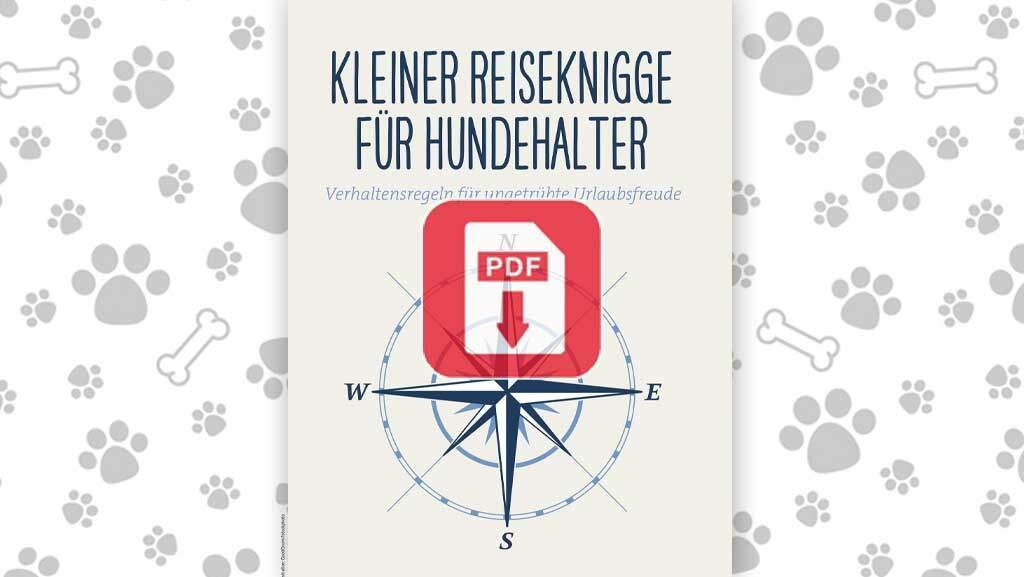 Download: Kleiner Reiseknigge für Hundehalter