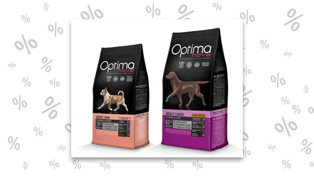 "<span class=""rabattheader"">15 %</span> Rabatt bei Visan: Optima Nova Hundefutter"