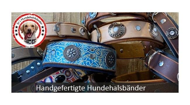 """<span class=""""rabattheader"""">21 %</span> Jo's Hundehalsbänder"""